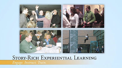 Learning Events, Training and Development, Townhall Builder, Platform, Experiential Education, Narrative Learning Environments, Simulations, Storytelling, Live Events, Training,