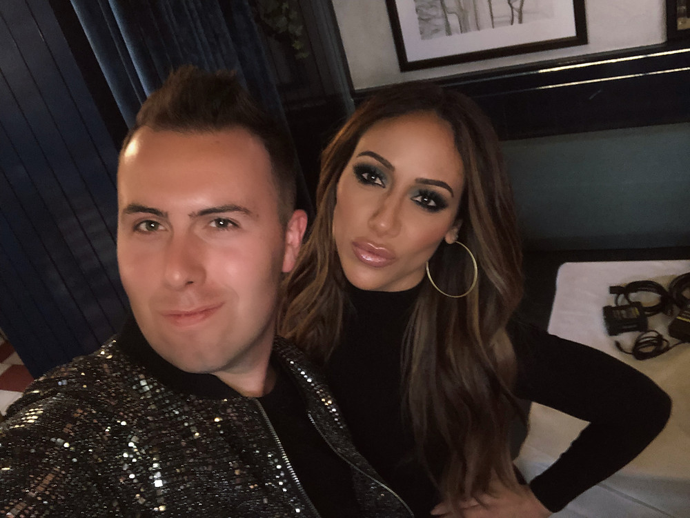 Derek Zagami And Melissa Gorga Filming Scenes for Real Housewives Of New Jersey Season 10