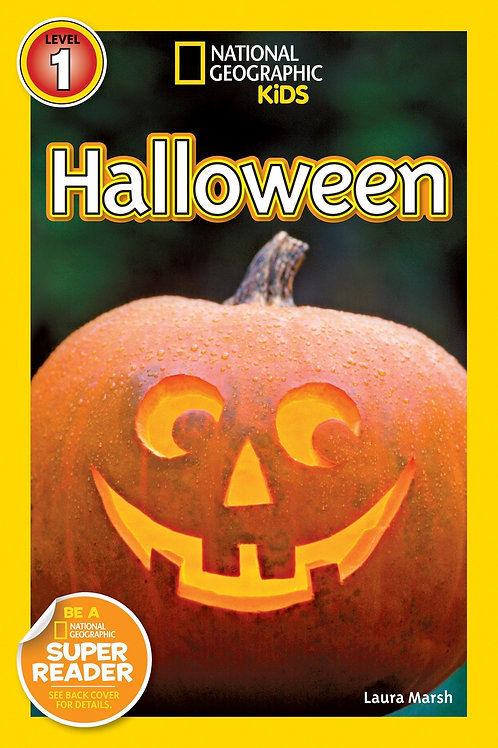 "National Geographic Kids Level 1  - ""Halloween"""