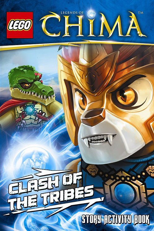"Lego - Legends of Chima ""Clash of the Tribes"" (Story Activity Book)"