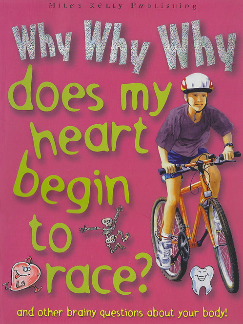 Why Why Why Does My Heart Begin to Race?