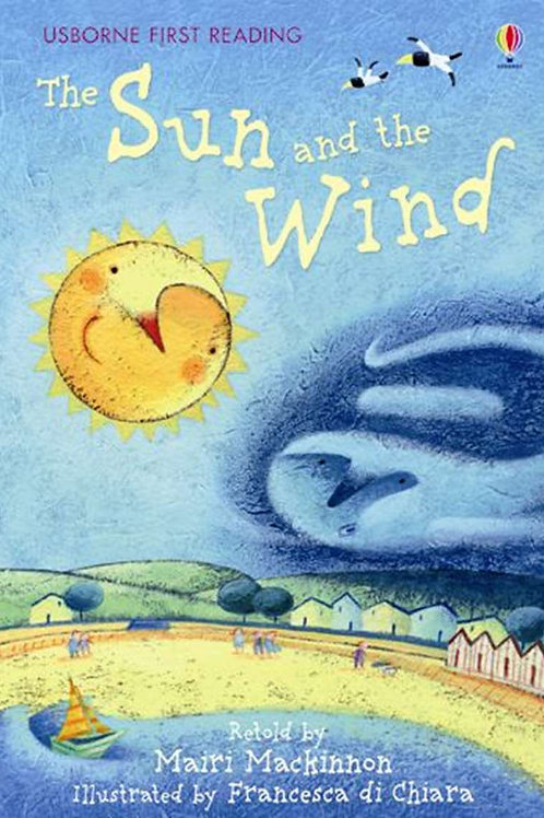 """Usborne First Reading """"The Sun and the Wind"""""""