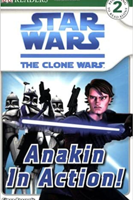 "Star Wars The Clone Wars ""Anakin In Action"""