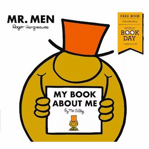 "Mr. Men ""My Book About Me"""