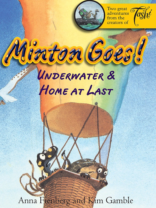 Minton Goes! Underwater & Home at Last