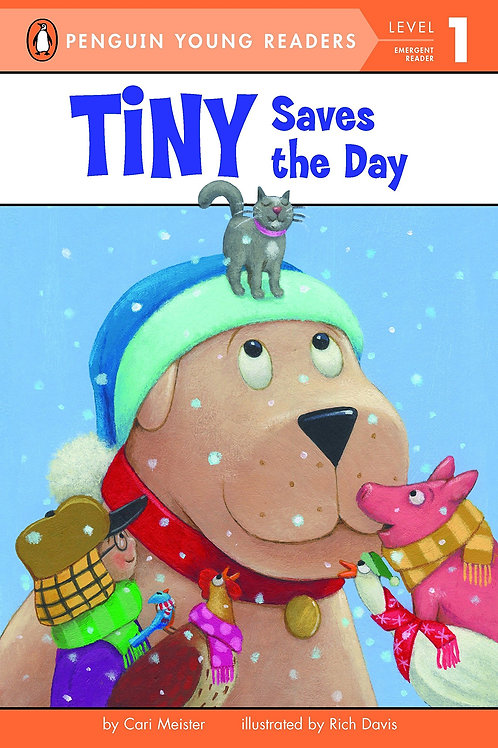 """Puffin Young Readers Level 1 """"Tiny Saves the Day"""""""