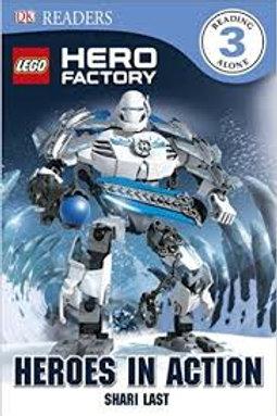 """DK Readers - Lego Hero Factory """"Heroes in Action"""""""