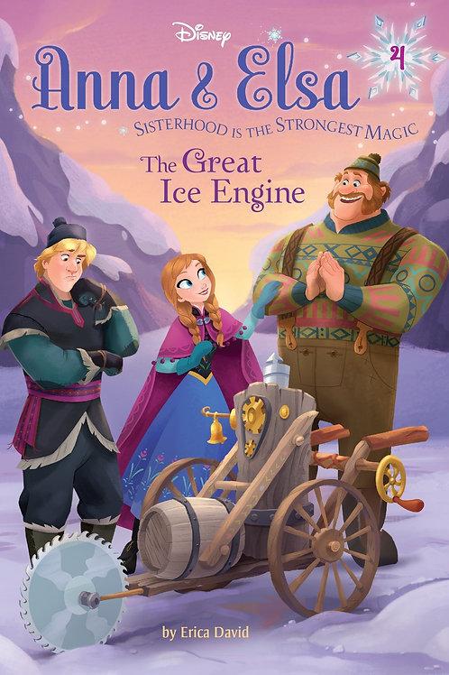 "Disney Anna & Elsa ""The Great Ice Engine"""