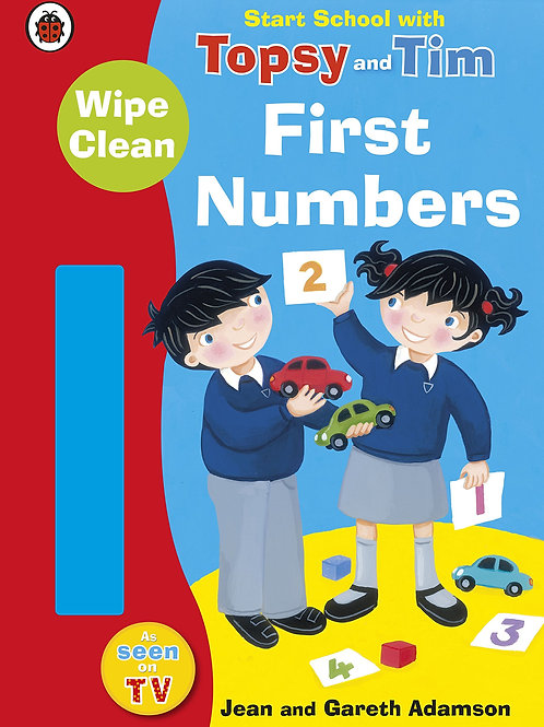 """Start School with Topsy and Tim - """"First Numbers"""""""
