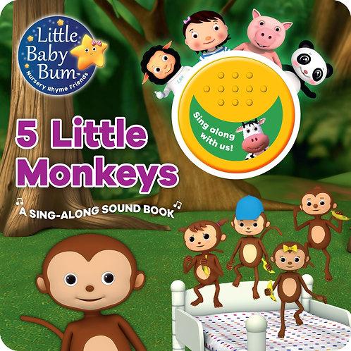 A Little Baby Bum - 5 Little Monkeys