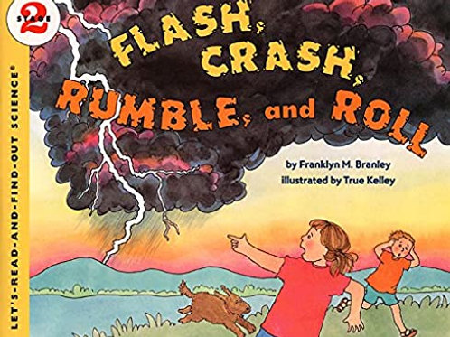 Lets-Read-And-Find-Out Science - Flash, Crash, Rumble, and Roll