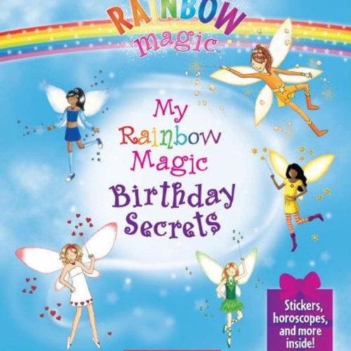 "Rainbow Magic ""My Rainbow Magic Birthday Secrets"""