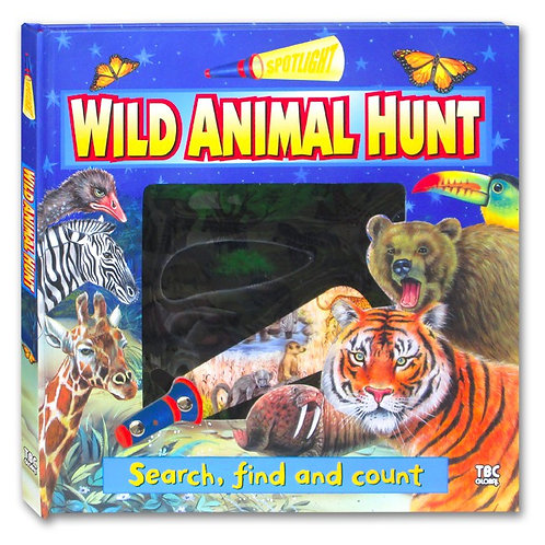 Wild Animal Hunt (Search, Find and Count)