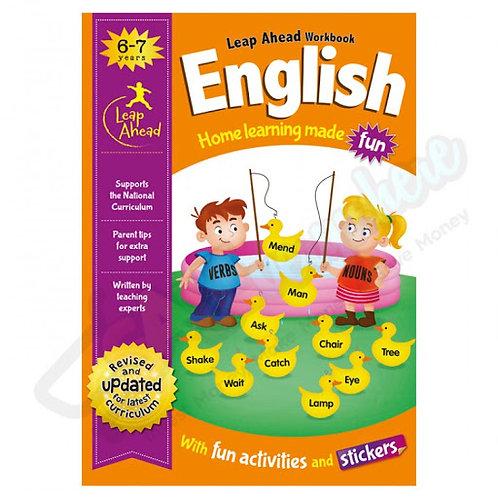 Leap Ahead Workbook -  ENGLISH  (6-7 years)