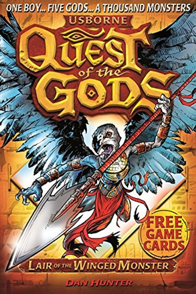 Usborne Quest of the Gods - Lair of the Winged Monster