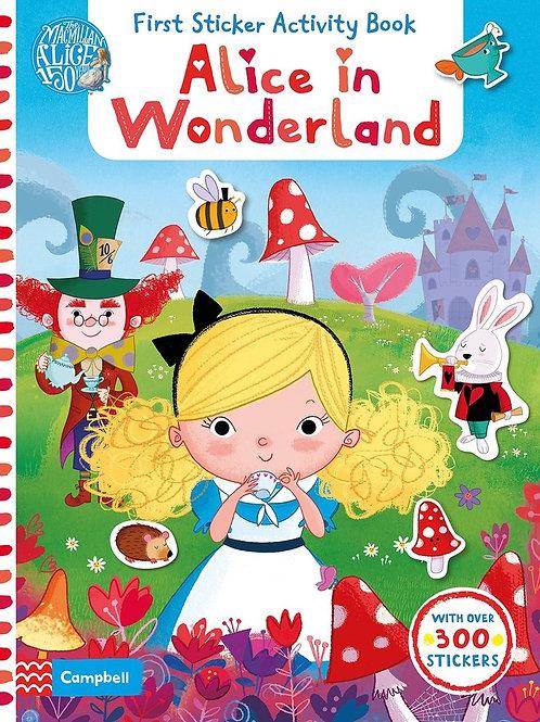 Alice in Wonderland - First Sticker Activity Book