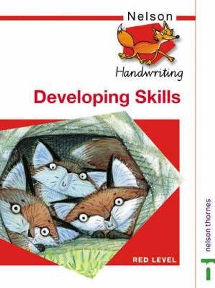 Nelson Handwritting Developing Skills - Red Level