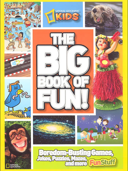 "National Geographic Kids - ""The Big Book of Fun!"""