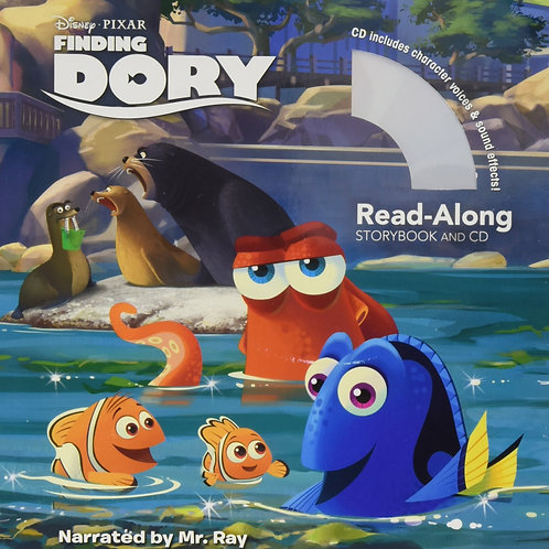 Disney Pixar Inside Out - Finding Dory Read-Along Storybook and CD
