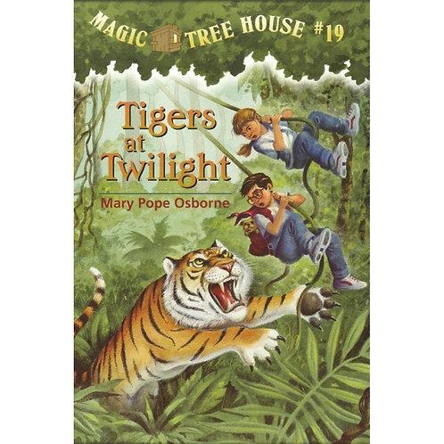 "Magic Tree House ""Tigers at Twilight"""