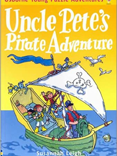 Usborne Young Puzzle Adventures - Uncle Pete's Pirate Adventure