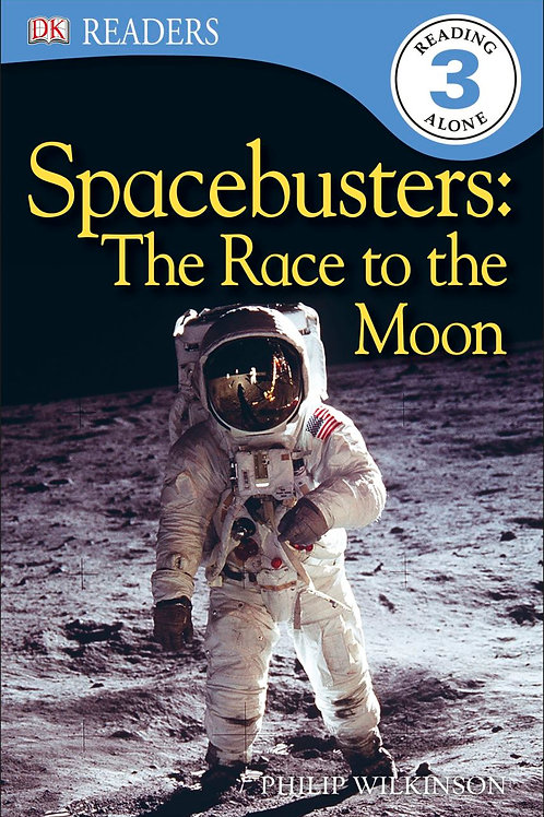DK Readers (Level 3) - Spacebusters: The Race to the Moon