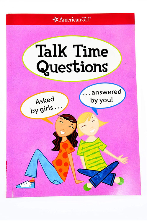 """American Girl """"Talk Time Questions - Asked by Girls.. Answered by You!"""""""