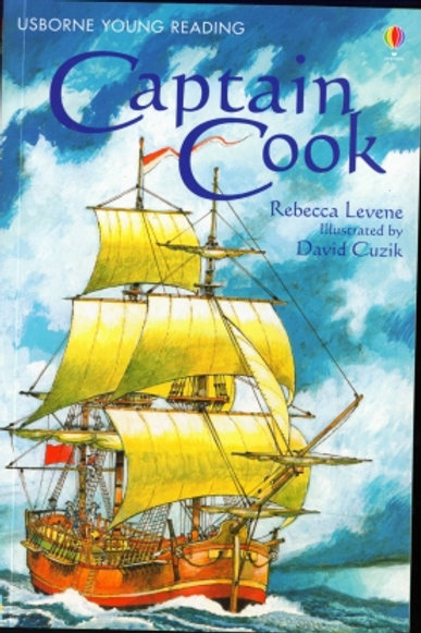 Usborne Young Reading - Captain Cook