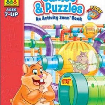 Games & Puzzles An Activity Book (Ages 7-UP)