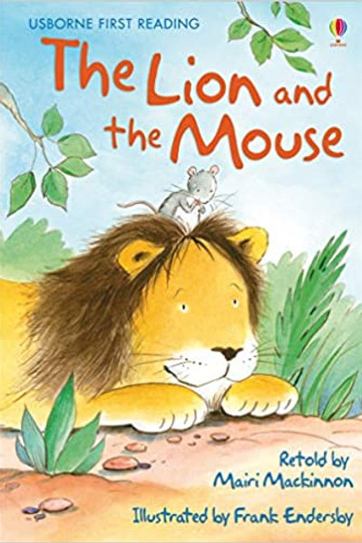 Usborne First Reading - The Lion and the Mouse