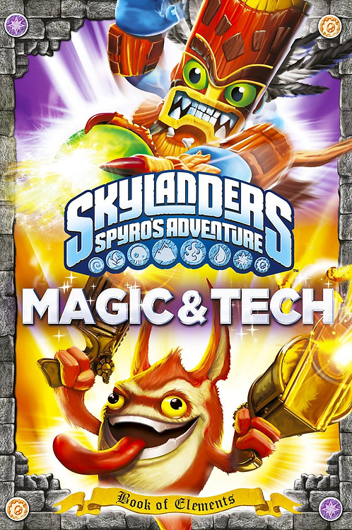 Skylanders Spyro's Adventure - Magic & Tech (Book of Elements)