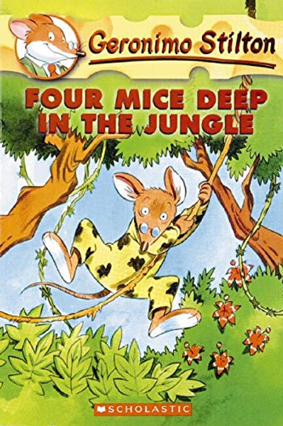 "Geronimo Stilton - ""Four Mice Deep in the Jungle"""