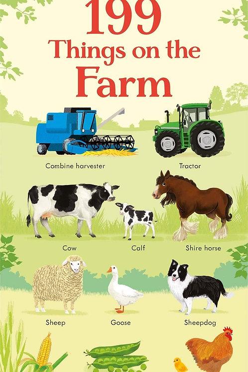 "Usborne - ""199 Things on the Farm"""