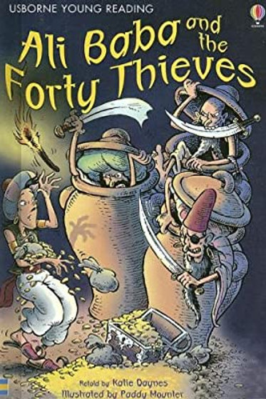 Usborne Young Reading - Ali baba and the Forty Thieves