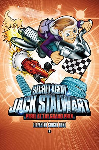 "Secret Agent Jack Stalwart ""Peril at the Grand Park"""