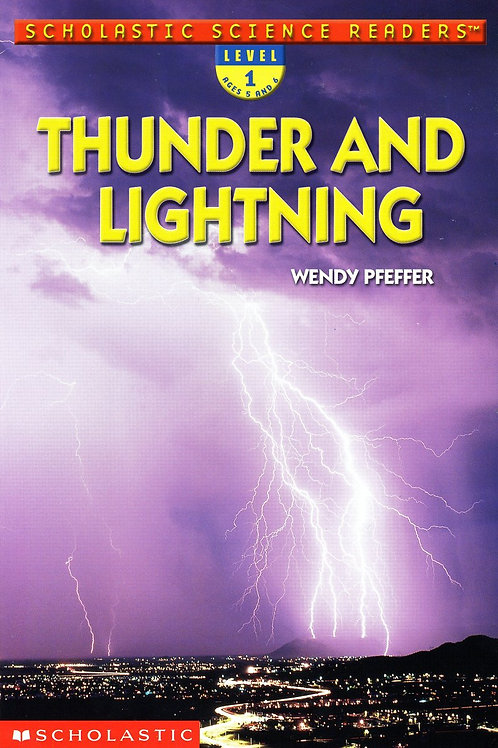 "Scholastic Science Readers ""Thunder and Lightning"""