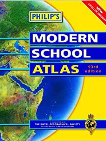 Philip's Modern School Atlas (93rd Edition)