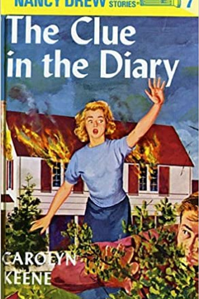"Nancy Drew Mystery Stories #7 - ""The Clue in the Diary"""