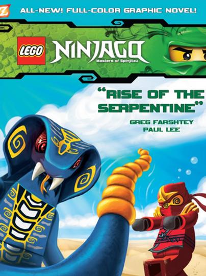 "Lego Ninjago - Masters of Spinjitzu ""Rise of the Serpentine"""