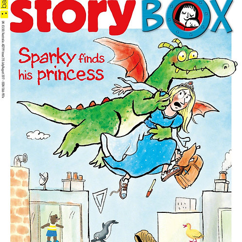 """Storybox - """"Sparky Finds his Princess"""""""