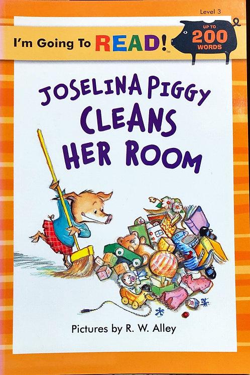 I'm Going to Read - Joselina Piggy Cleans Her Room