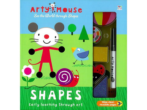 Arty Mouse - SHAPES (Early Learning Through Art)