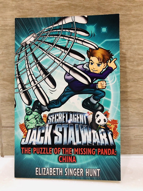 "Secret Agent Jack Stalwart - ""The Puzzle of the Missing Panda : China"""""