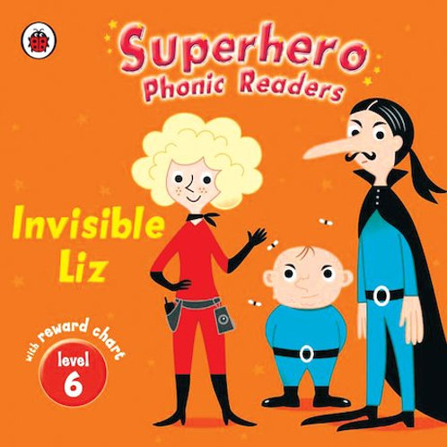 Superhero Phonic Readers - Invisible Liz
