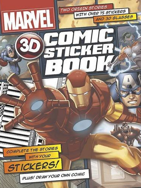 Marvel - 3D Comic Sticker Book