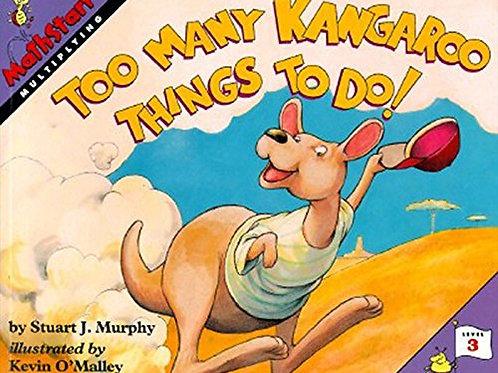 "MathStart - Multiplying ""Too Many Kangaroo Things To Do!"" (Level 3)"