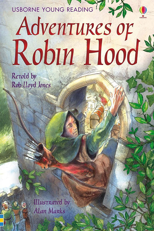 "Usborne Young Reading ""Adventures of Robin Hood"""