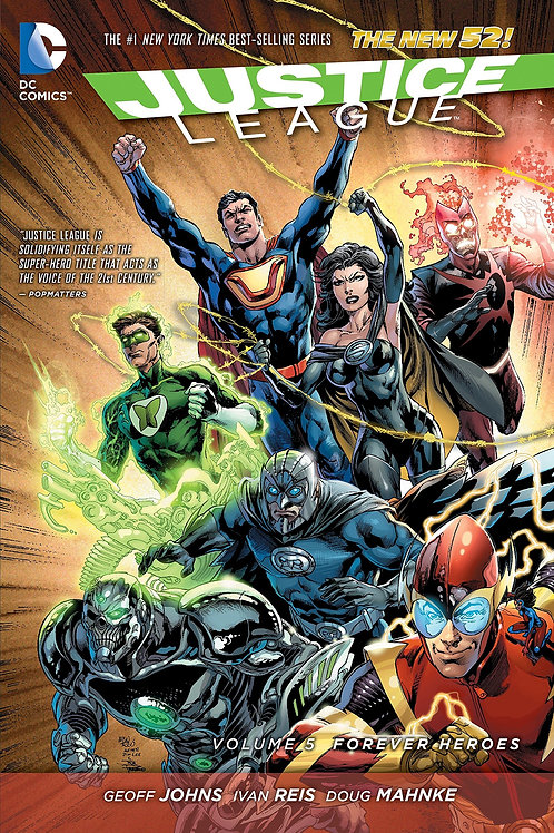Justice League (Volume 5) - Forever Heroes