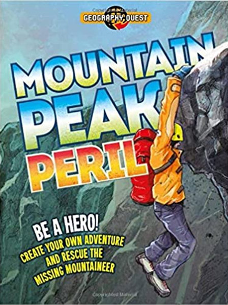 """Geography Quest """"Mountain Peak Peril"""""""