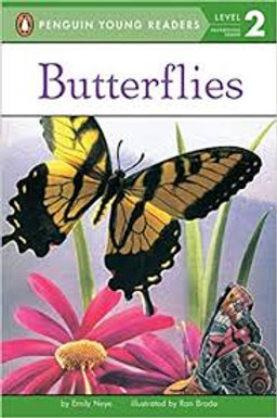Puffin Young Readers (Level 2) - Butterflies
